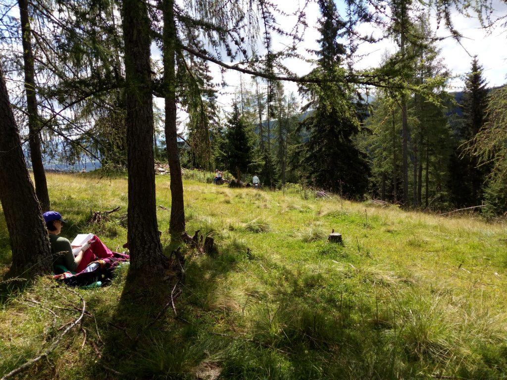 Schreiben und Wandern Juli